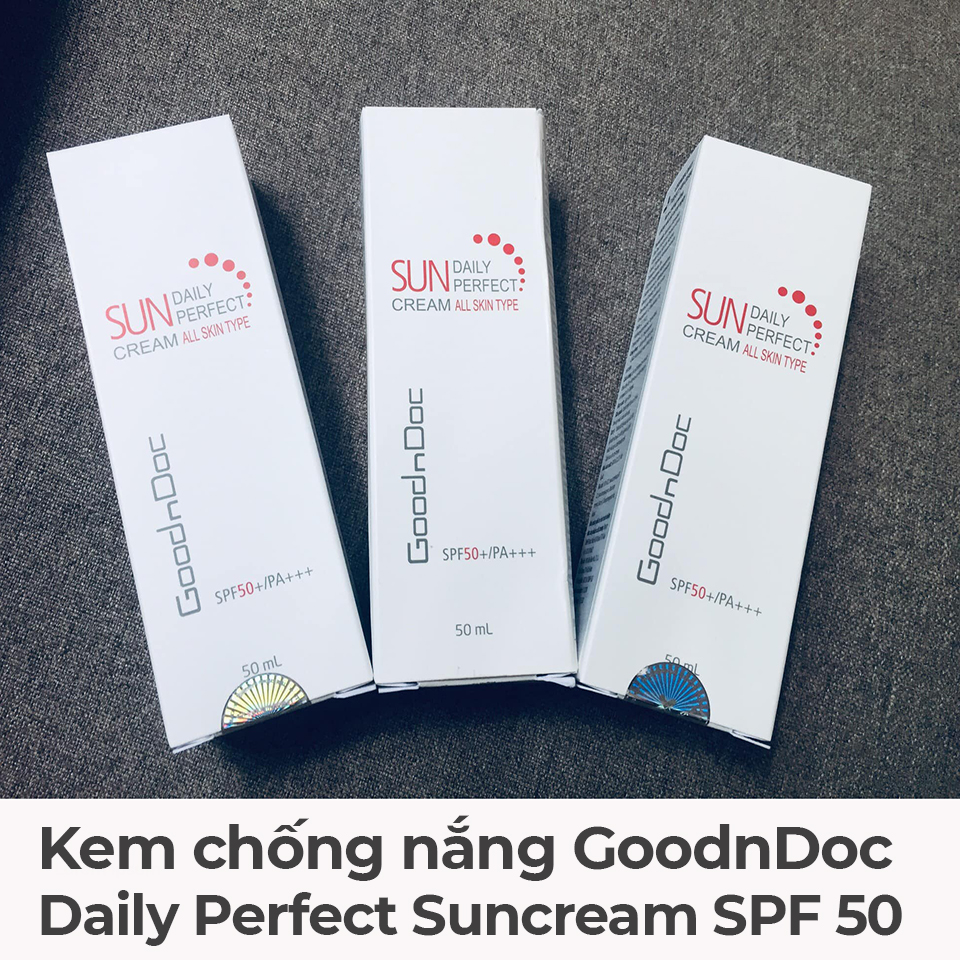 Kem chống nắng GoodnDoc Daily Perfect Suncream SPF 50-1