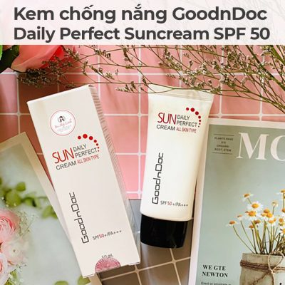 Kem chống nắng GoodnDoc Daily Perfect Suncream SPF 50-3
