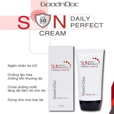 Kem chống nắng GoodnDoc Daily Perfect Suncream SPF 50-4