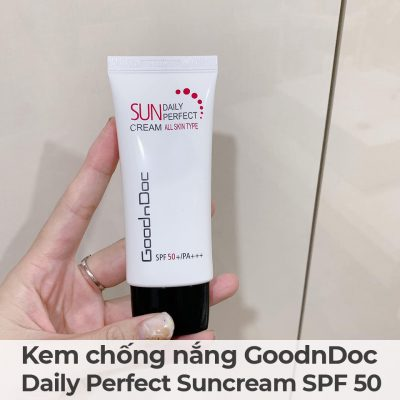 Kem chống nắng GoodnDoc Daily Perfect Suncream SPF 50-5