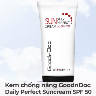 Kem chống nắng GoodnDoc Daily Perfect Suncream SPF 50-8