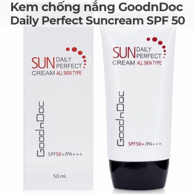 Kem chống nắng GoodnDoc Daily Perfect Suncream SPF 50-9