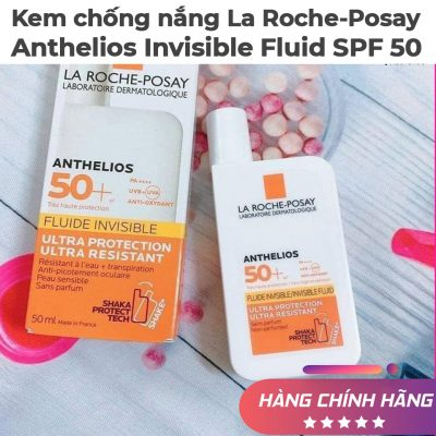 Kem chống nắng La Roche-Posay Anthelios Invisible Fluid SPF 50-5