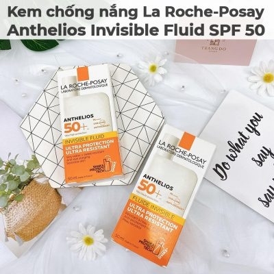 Kem chống nắng La Roche-Posay Anthelios Invisible Fluid SPF 50-7