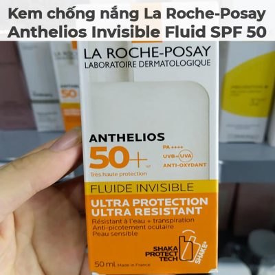 Kem chống nắng La Roche-Posay Anthelios Invisible Fluid SPF 50-9