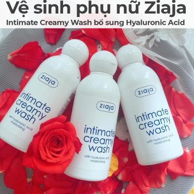 Kem vệ sinh phụ nữ Ziaja Intimate Creamy Wash bổ sung Hyaluronic Acid-6