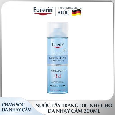 Nước Tẩy Trang Eucerin DermatoClean Micellar Water 3in1 Cho Da Nhạy Cảm-2