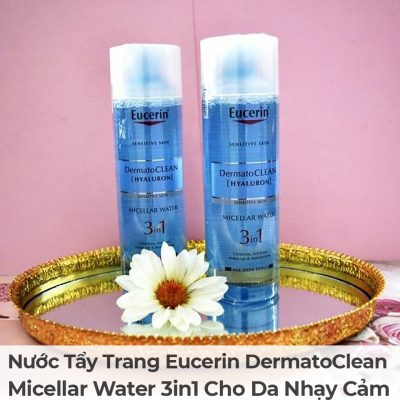 Nước Tẩy Trang Eucerin DermatoClean Micellar Water 3in1 Cho Da Nhạy Cảm-5