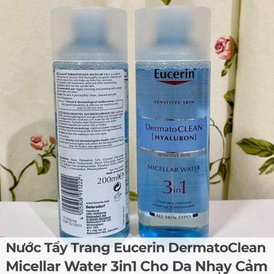 Nước Tẩy Trang Eucerin DermatoClean Micellar Water 3in1 Cho Da Nhạy Cảm-6
