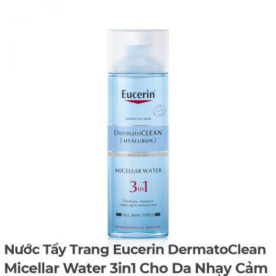 Nước Tẩy Trang Eucerin DermatoClean Micellar Water 3in1 Cho Da Nhạy Cảm-9