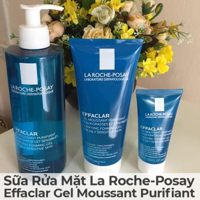 Sữa Rửa Mặt La Roche-Posay Effaclar Gel Moussant Purifiant-19