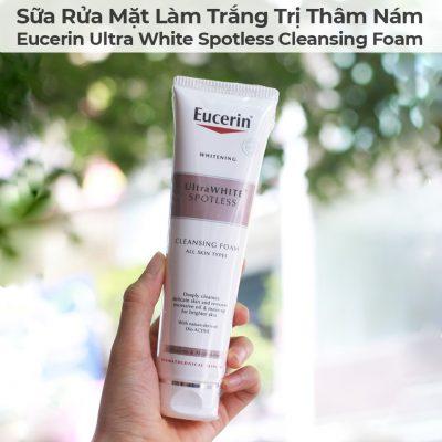 Sữa Rửa Mặt Làm Trắng Trị Thâm Nám Eucerin Ultra White Spotless Cleansing Foam-1