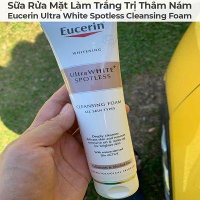 Sữa Rửa Mặt Làm Trắng Trị Thâm Nám Eucerin Ultra White Spotless Cleansing Foam-12