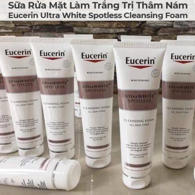 Sữa Rửa Mặt Làm Trắng Trị Thâm Nám Eucerin Ultra White Spotless Cleansing Foam-9