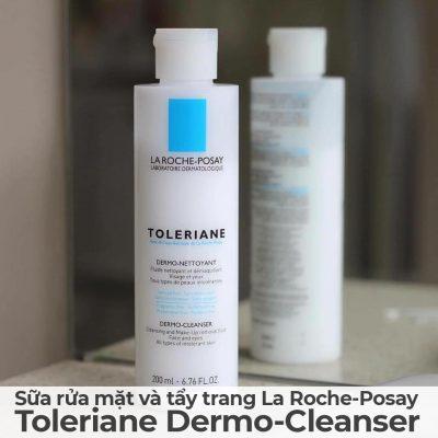 Sữa rửa mặt và tẩy trang La Roche-Posay Toleriane Dermo-Cleanser-10
