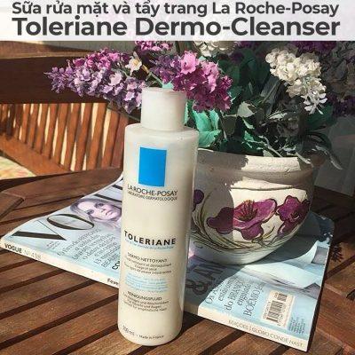 Sữa rửa mặt và tẩy trang La Roche-Posay Toleriane Dermo-Cleanser-11