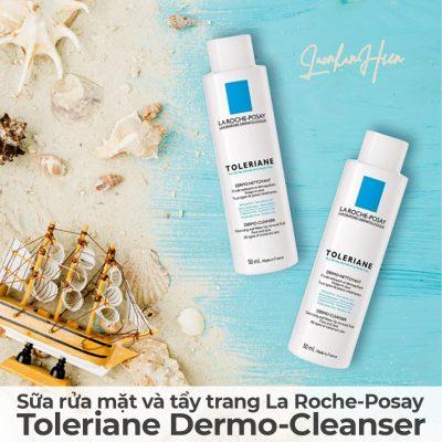 Sữa rửa mặt và tẩy trang La Roche-Posay Toleriane Dermo-Cleanser-13
