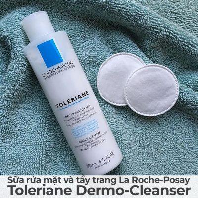 Sữa rửa mặt và tẩy trang La Roche-Posay Toleriane Dermo-Cleanser-14