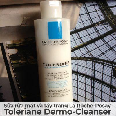 Sữa rửa mặt và tẩy trang La Roche-Posay Toleriane Dermo-Cleanser-2