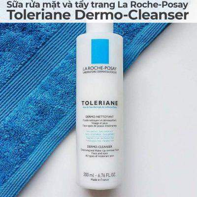 Sữa rửa mặt và tẩy trang La Roche-Posay Toleriane Dermo-Cleanser-6