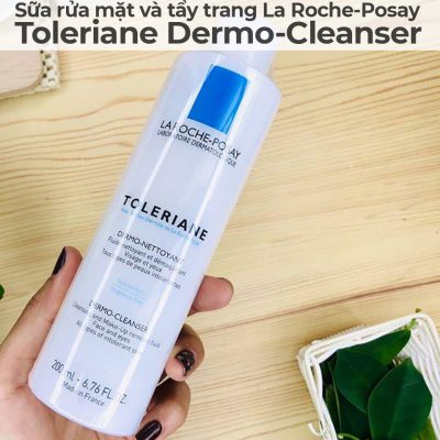 Sữa rửa mặt và tẩy trang La Roche-Posay Toleriane Dermo-Cleanser-7