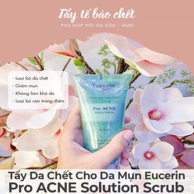 Tẩy Da Chết Cho Da Mụn Eucerin Pro ACNE Solution Scrub-15