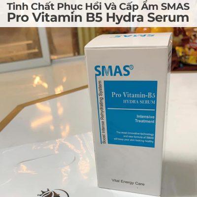 Tinh Chất Phục Hồi Và Cấp Ẩm Smas Pro Vitamin B5 Hydra Serum-11