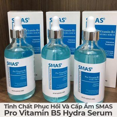Tinh Chất Phục Hồi Và Cấp Ẩm Smas Pro Vitamin B5 Hydra Serum-12