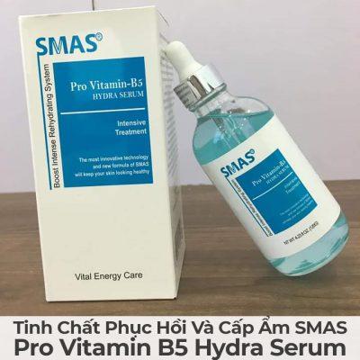 Tinh Chất Phục Hồi Và Cấp Ẩm Smas Pro Vitamin B5 Hydra Serum-13