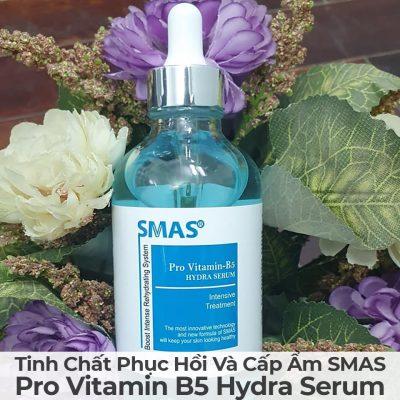 Tinh Chất Phục Hồi Và Cấp Ẩm Smas Pro Vitamin B5 Hydra Serum-16