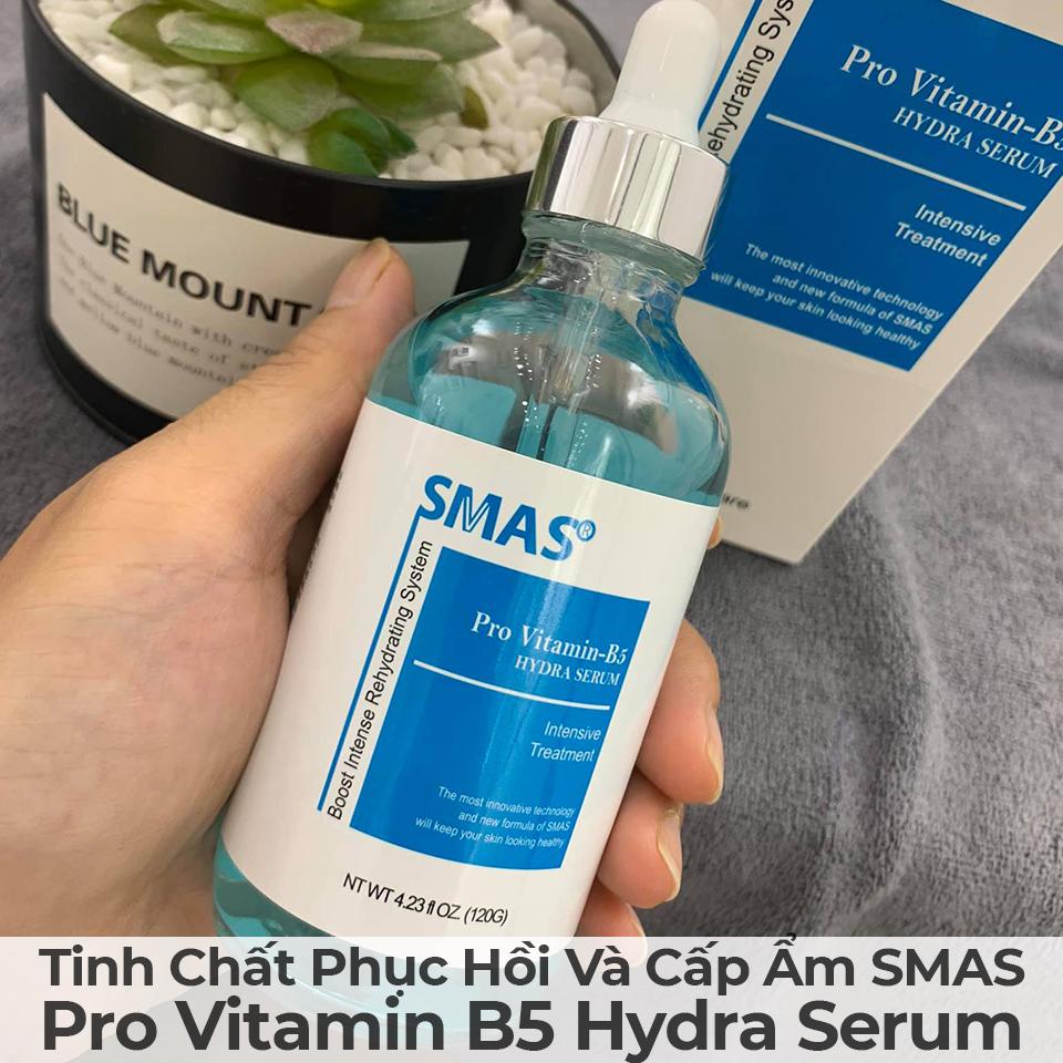 Tinh Chất Phục Hồi Và Cấp Ẩm Smas Pro Vitamin B5 Hydra Serum-2