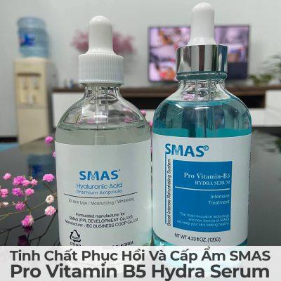 Tinh Chất Phục Hồi Và Cấp Ẩm Smas Pro Vitamin B5 Hydra Serum-3