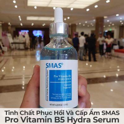 Tinh Chất Phục Hồi Và Cấp Ẩm Smas Pro Vitamin B5 Hydra Serum-4