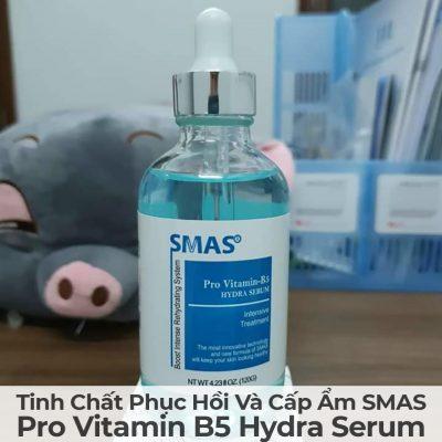 Tinh Chất Phục Hồi Và Cấp Ẩm Smas Pro Vitamin B5 Hydra Serum-6