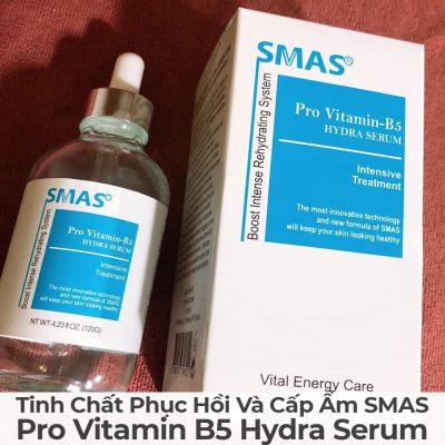 Tinh Chất Phục Hồi Và Cấp Ẩm Smas Pro Vitamin B5 Hydra Serum-7