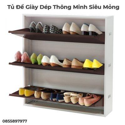 Tủ Để Giày Dép Xuân Hòa Thông Minh Siêu Mỏng-13