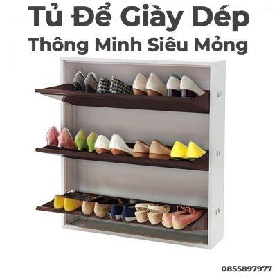 Tủ Để Giày Dép Xuân Hòa Thông Minh Siêu Mỏng-2