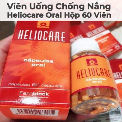 Viên Uống Chống Nắng Heliocare Oral Hộp 60 Viên-2