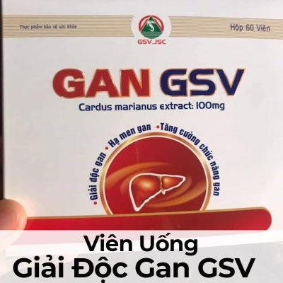 Viên Uống Giải Độc Gan GSV-6
