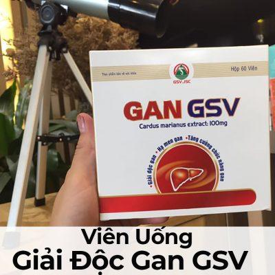 Viên Uống Giải Độc Gan GSV-7