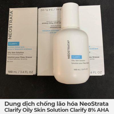Dung dịch chống lão hóa NeoStrata Clarify Oily Skin Solution Clarify 8 AHA-1