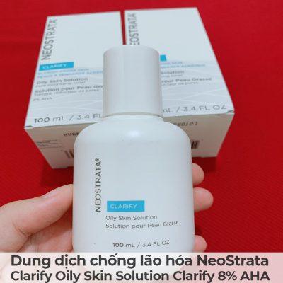 Dung dịch chống lão hóa NeoStrata Clarify Oily Skin Solution Clarify 8 AHA-10