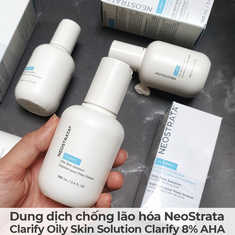 Dung dịch chống lão hóa NeoStrata Clarify Oily Skin Solution Clarify 8 AHA-12