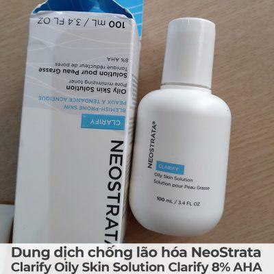 Dung dịch chống lão hóa NeoStrata Clarify Oily Skin Solution Clarify 8 AHA-2