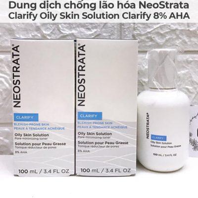 Dung dịch chống lão hóa NeoStrata Clarify Oily Skin Solution Clarify 8 AHA-3