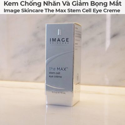 Kem Chống Nhăn Và Giảm Bọng Mắt Image Skincare The Max Stem Cell Eye Creme-2