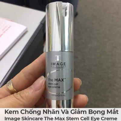 Kem Chống Nhăn Và Giảm Bọng Mắt Image Skincare The Max Stem Cell Eye Creme-4