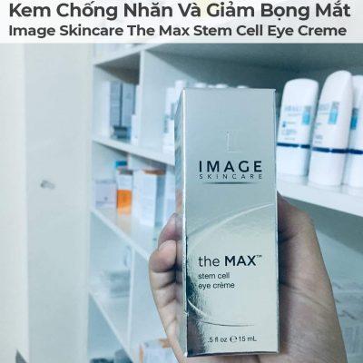 Kem Chống Nhăn Và Giảm Bọng Mắt Image Skincare The Max Stem Cell Eye Creme-5
