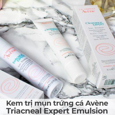Kem trị mụn trứng cá Avène Triacneal Expert Emulsion-10