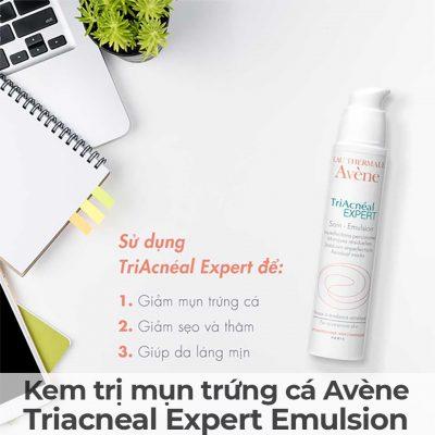 Kem trị mụn trứng cá Avène Triacneal Expert Emulsion-7